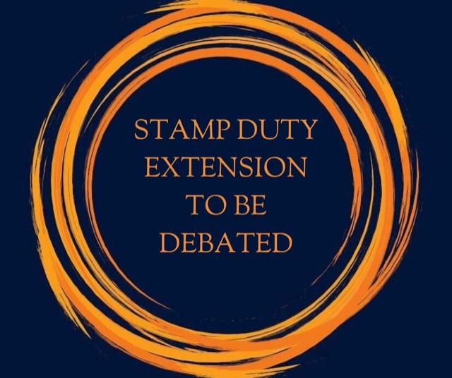 Stamp Duty Extension Debate